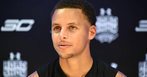 stephen curry of the golden state warriors speaks out on