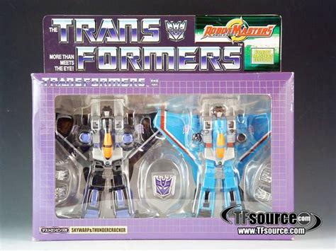 Skywarp Thundercracker Transformers Robot Masters Takara Classics robot masters thundercracker and skywarp