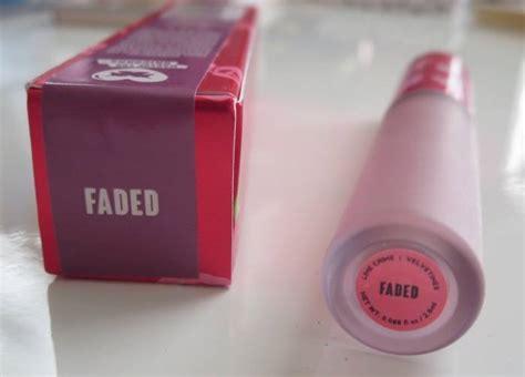 Lipstick Lime Crime Faded Lplc8 lime crime velvetines faded liquid matte lipstick review