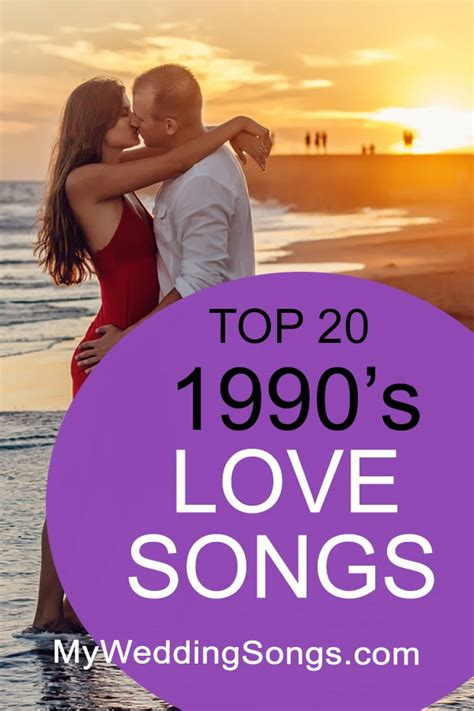 top 20 1990s love songs 90s music song list