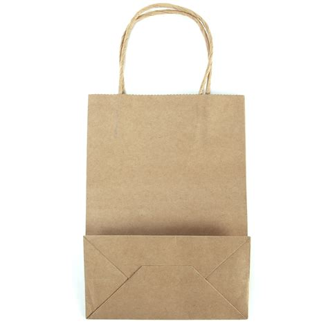 Brown Paper Craft Bags - brown kraft craft twisted handle paper carrier bags