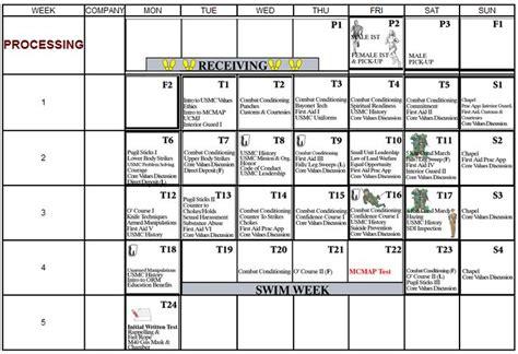 marine boot c schedule marine boot c schedule 28 images marine corps boot c