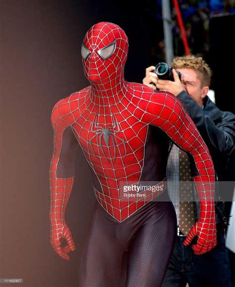 spider man raimi pattern quot spider man 3 quot on location new york city may 28