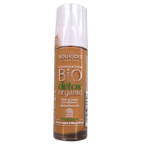 Bio Detox Organic Foundation by Bourjois Bio Detox Organic Foundation Various Shades Ebay