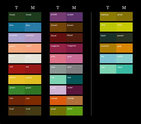 colorful names colorful language explorations of how color is defined