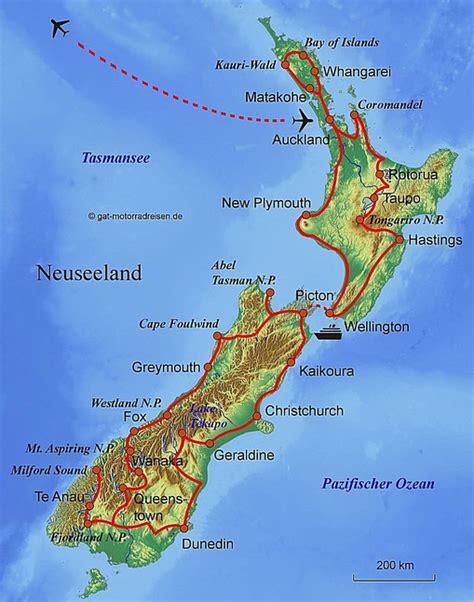 Motorradfahren In Neuseeland by Motorradreise Neuseeland Gef 252 Hrte Motorradtouren