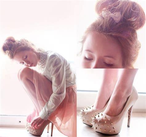 Vannesa Dress Series 3 Original Brand By Rara Busana dress shirt skirt studs girly collar heels