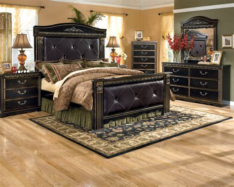 mansion bedroom furniture ashley coal creek bedroom set b175 57 54 98 61 bedroom