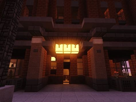 modern apartment building minecraft building