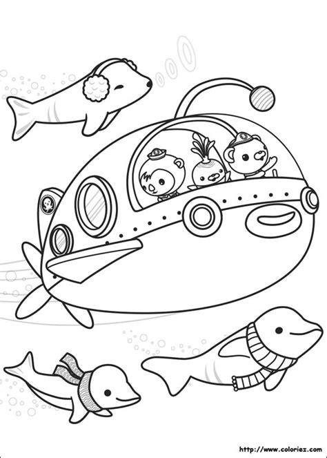 octonauts coloring pages pdf coloriage octonauts et beluga