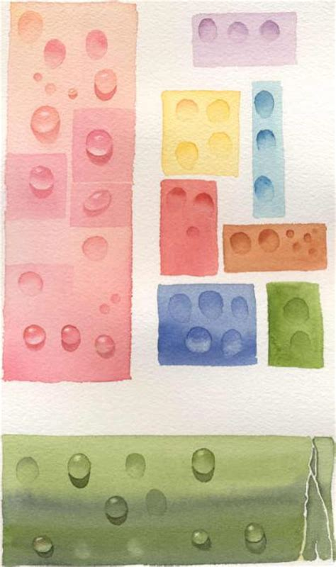 how to paint waterdrops or dew drops in watercolor susie s free watercolor painting tips