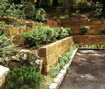 garden wall cost railroad tie wall retaining wall ideas