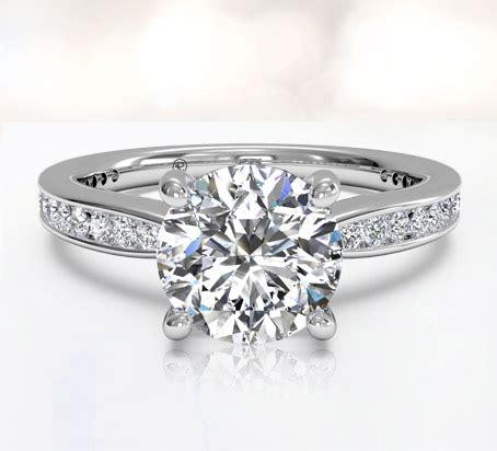 channel set engagement rings ritani