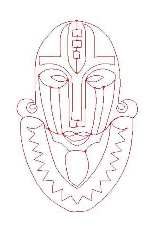 african mask to print patterns patterns kid