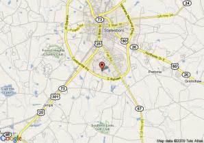 map of la quinta inn statesboro statesboro