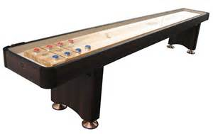12 espresso playcraft woodbridge shuffleboard table