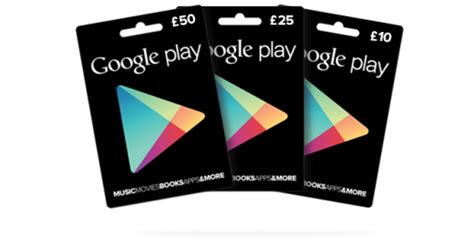 Google Play Gift Cards Uk - google play gift cards launch in the uk at tesco and morrisons