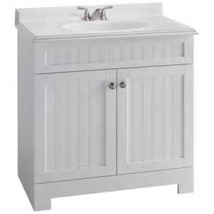 Vanities Lowes With Top Style Selections Boardwalk White Single Sink Bathroom