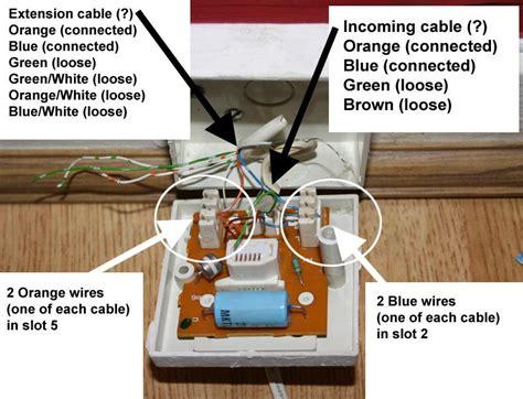 adsl master socket wiring wiring diagram schemes