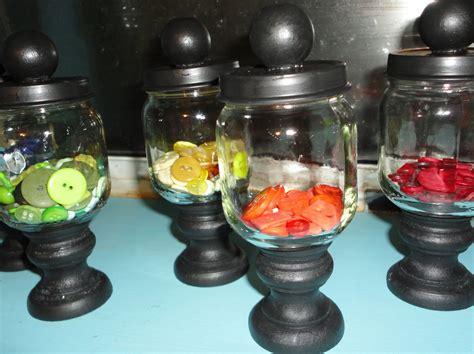 baby food jar crafts rustic studio button jars