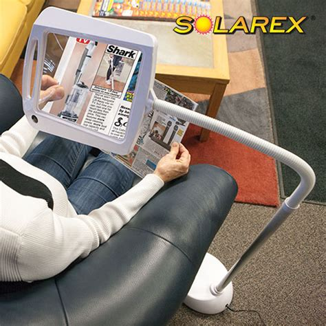 full page magnifier with light heartland america solarex 5x magnifier l