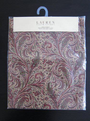 ralph table runner ralph table runner 15 x 72 quot redding paisley