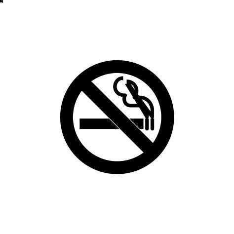 no smoking sign black and white no smoking icon cliparts co
