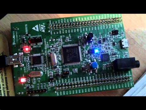Dijamin Original Stm32f0 Discovery stm32f4 discovery blinking led doovi