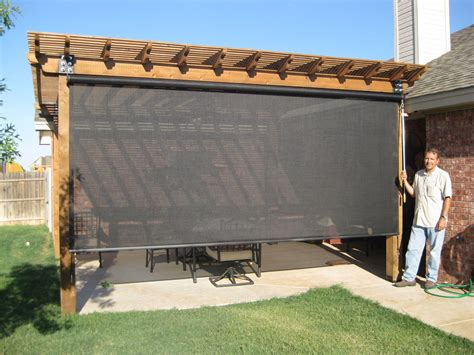 backyard screen sun shades d s furniture