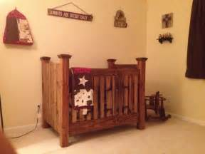 Handmade Baby Crib My Western Baby Crib Someday