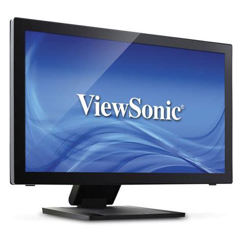 Monitor Lcd Viewsonic 22 viewsonic td2240 22 quot widescreen led backlit lcd td2240 b h