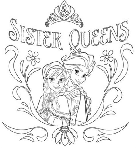 frozen coloring pages pdf elsa frozen coloring pages pdf