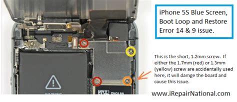 9 iphone error រ វ ផ ស រល ក រ ងក ពង ឆ ន ង iphone 5s blue screen bootloop restore error 14 or error 9