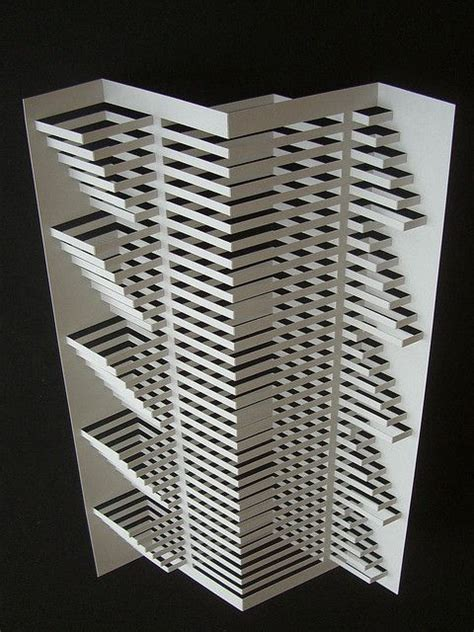 Architectural Paper Folding - 1000 images about paper origamic architecture on