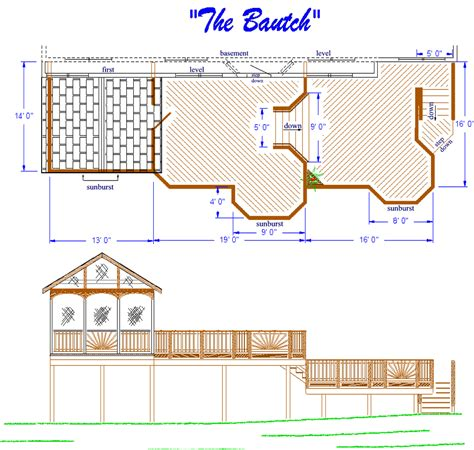 deck house plans screened in porch and deck plans 187 design and ideas