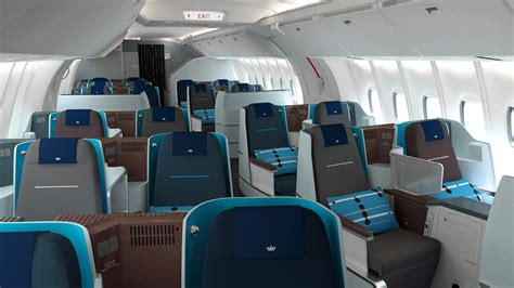 klm 777 200 economy comfort klm introduce brand new 777 economy interiors thedesignair