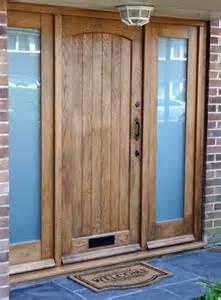 Solid Oak Exterior Door Cottage External Solid Oak Door External Doors
