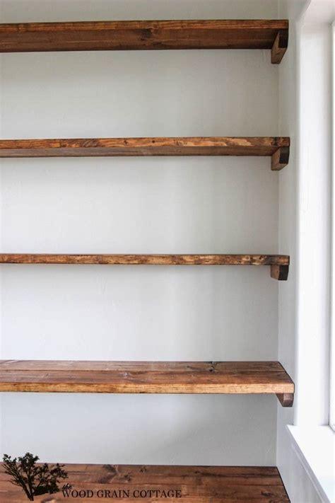 open wall shelves diy shelves 18 diy shelving ideas open shelving wood