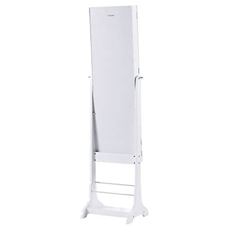 Free Standing Length Mirror Jewelry Armoire by Langria Led Jewelry Armoire Lockable Jewelry Cabinet