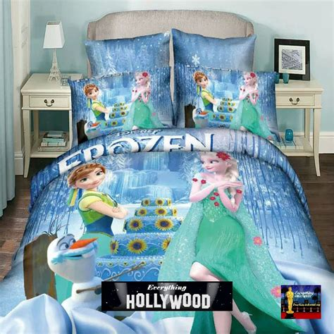 queen size frozen bedding frozen elsa anna olaf design bedding cover set 2 queen size