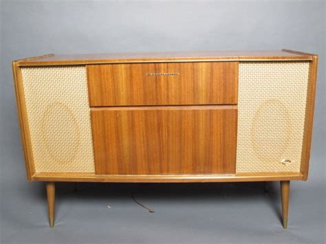 stereo cabinet with turntable shelf grundig majestic stereo radio console model so 122 us