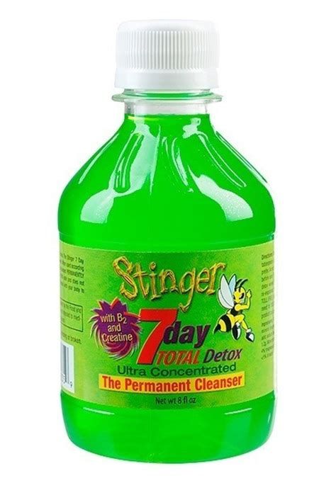 Total Detox Jazz Saliva by Stinger 7 Day Total Detox Drink
