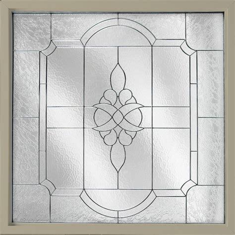 hy lite 47 5 in x 47 5 in decorative glass fixed vinyl