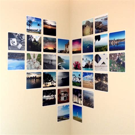 photos on wall without frames photo wall collage without frames 17 layout ideas