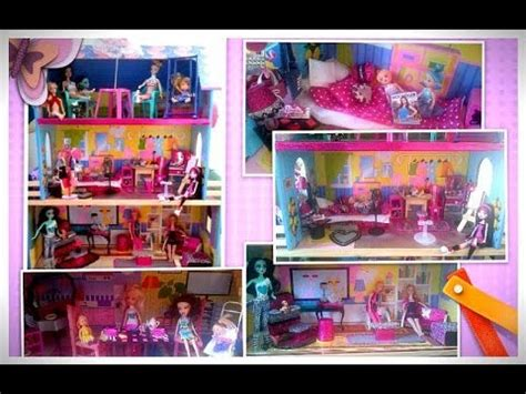 videos de casas de barbie casa de mu 241 ecas barbie decoraci 243 n youtube