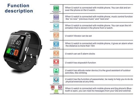 Unique Smartwatch Maxstyle Executive U8 For Ios And Android buy unique smartwatch maxstyle executive u8 for ios and