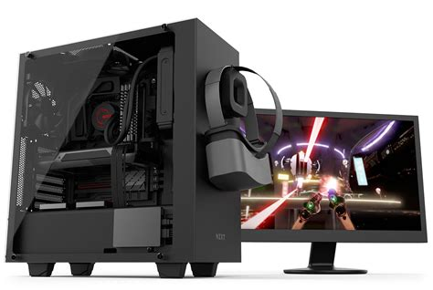 Vr Pc nzxt s340 elite is a mid tower for vr pc builds