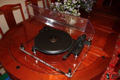diy pro ject debut carbon turntable with mango plinth sold excellent condition pro ject perspective carbon