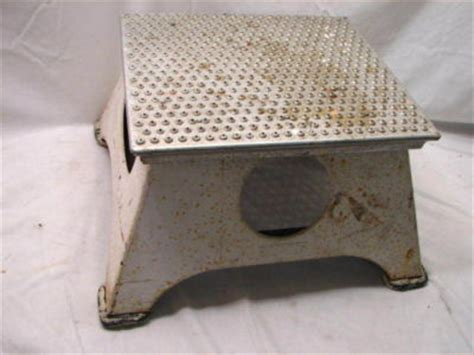 Conductor Step Stool by New York Central Nyc System Conductor Step Stool
