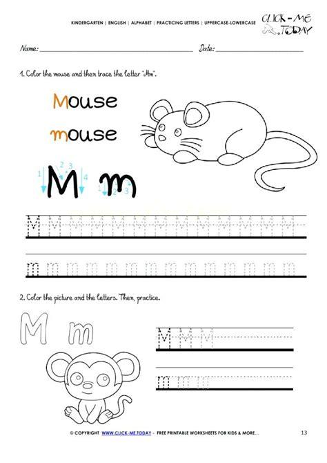 letter m worksheets trace letter m olala propx co 1373